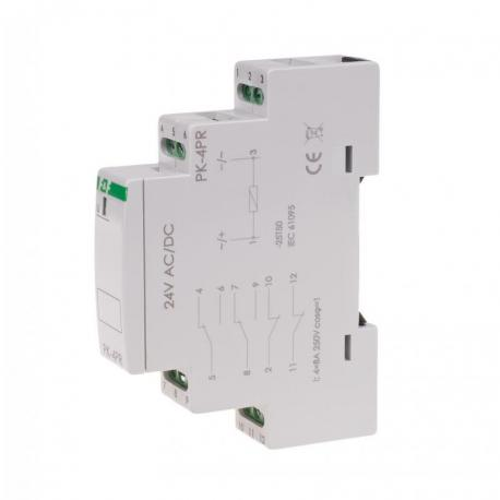 Przekaźnik elektromagnetyczny PK-4PR 24V PK-4PR-24V