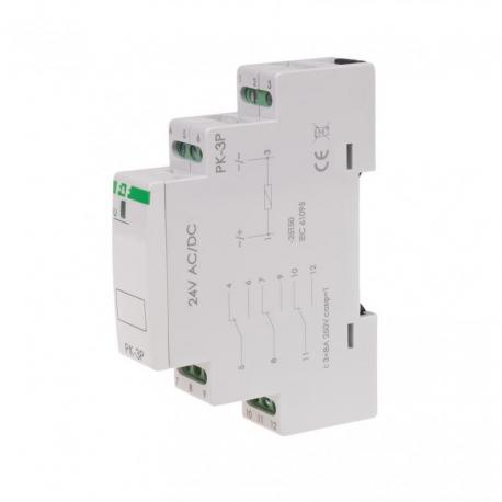Przekaźnik elektromagnetyczny PK-3P 24V PK-3P-24V