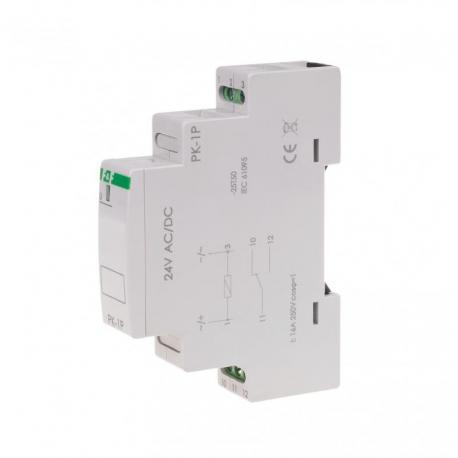 Przekaźnik elektromagnetyczny PK-1P 24 V PK-1P-24V
