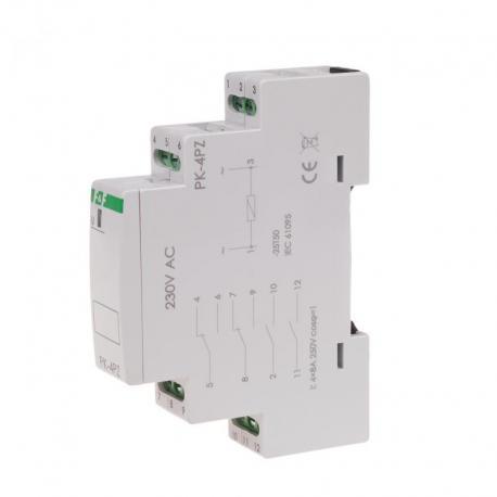 Przekaźnik elektromagnetyczny PK-4PZ 230V PK-4PZ-230V