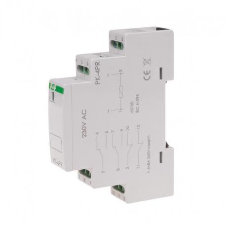 Przekaźnik elektromagnetyczny PK-4PR 230V PK-4PR-230V