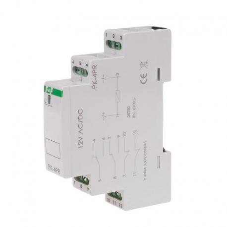 Przekaźnik elektromagnetyczny PK-4PR 12V PK-4PR-12V