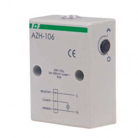 Automat zmierzchowy z wewnętrznym czujnikiem światłoczułym AZH-106