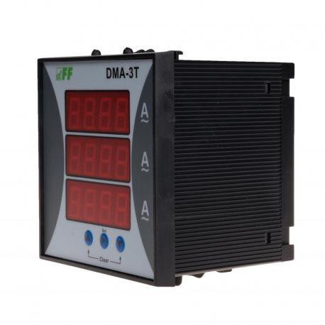 Cyfrowy wskaźnik wartości natężenia prądu, trójfazowy DMA-3T DMA-3T