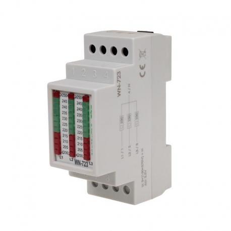 Wskaźnik napięcia trójfazowy WN-723 3x400V+ N WN-723