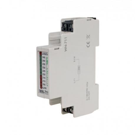 Wskaźnik napięcia jednofazowy WN-711 230V AC WN-711