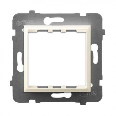 ARIA Adapter podtynkowy systemu OSPEL 45 do serii Aria AP45-1U/m/27 ECRU