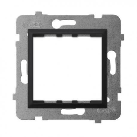 ARIA Adapter podtynkowy systemu OSPEL 45 do serii Aria AP45-1U/m/33 CZARNY METALIK