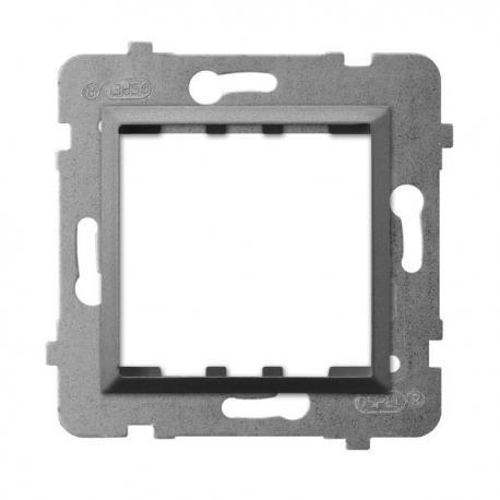 ARIA Adapter podtynkowy systemu OSPEL 45 do serii Aria AP45-1U/m/70 SZARY MAT