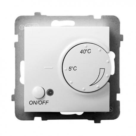 ARIA Regulator temperatury z czujnikiem napowietrznym RTP-1UN/m/00 BIAŁY