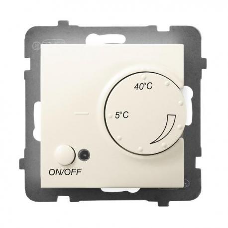 ARIA Regulator temperatury z czujnikiem napowietrznym RTP-1UN/m/27 ECRU
