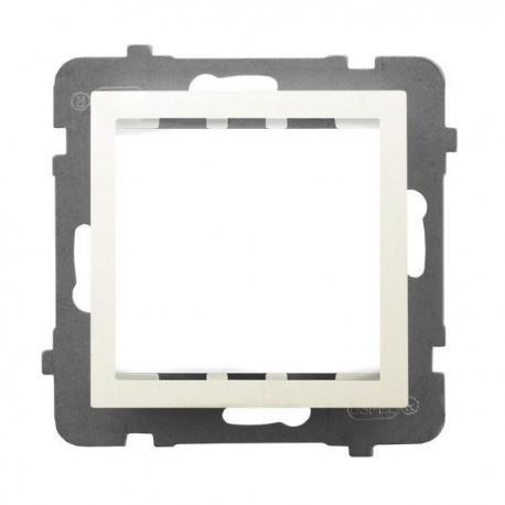 AS Adapter podtynkowy systemu OSPEL 45 do serii As AP45-1G/m/27 ECRU