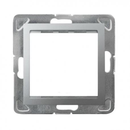 IMPRESJA Adapter podtynkowy systemu OSPEL 45 do serii Impresja AP45-1Y/m/18 SREBRO
