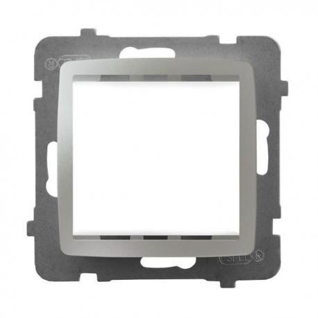 KARO Adapter podtynkowy systemu OSPEL 45 do serii Karo AP45-1S/m/43 SREBRNY PERŁOWY