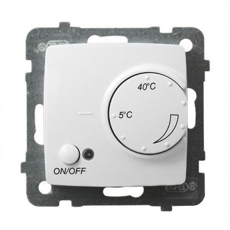 KARO Regulator temperatury z czujnikiem podpodłogowym RTP-1S/m/00 BIAŁY