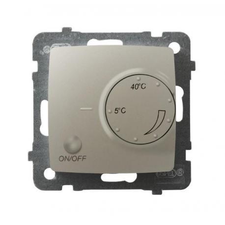 KARO Regulator temperatury z czujnikiem podpodłogowym RTP-1S/m/42 ECRU PERŁOWY