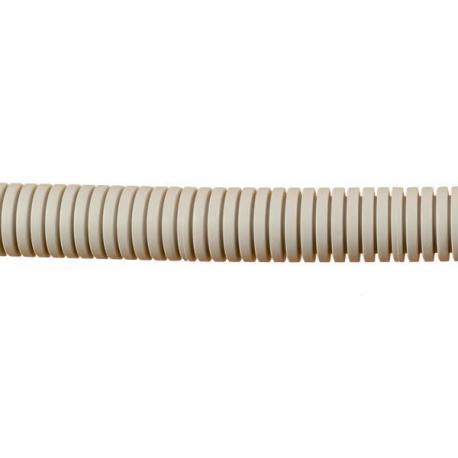 Rura karbowana instalacyjna 320N średnica zewnętrzna 16mm RKI-16A/50 SZARY
