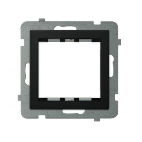 SONATA Adapter podtynkowy systemu OSPEL 45 do serii Sonata AP45-1R/m/33 CZARNY METALIK