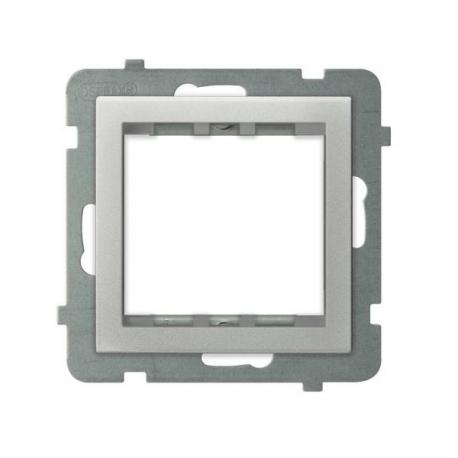 SONATA Adapter podtynkowy systemu OSPEL 45 do serii Sonata AP45-1R/m/38 SREBRO MAT