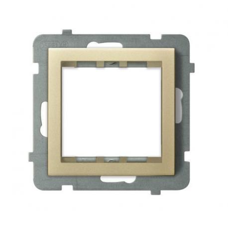 SONATA Adapter podtynkowy systemu OSPEL 45 do serii Sonata AP45-1R/m/39 SZAMPAŃSKI ZŁOTY
