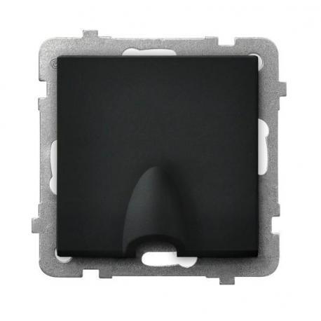 SONATA Przyłącz kablowy GPPK-1R/m/33 CZARNY METALIK