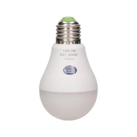 Orno SAHIL LED, żarówka z mikrofalowym czujnikiem ruchu, 7W, 600lm, 4000K , gwint E27