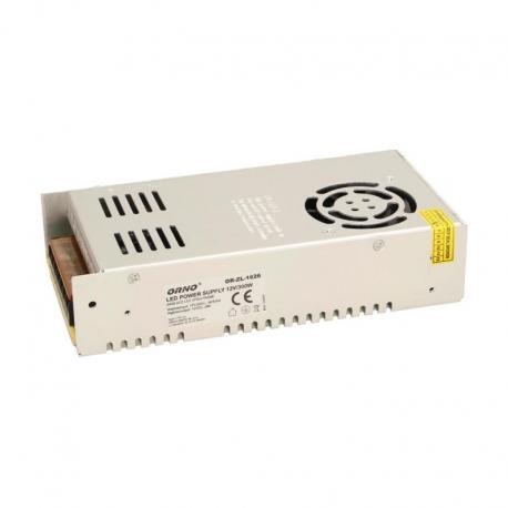 Orno Zasilacz open frame 300W do oświetlenia LED 12VDC