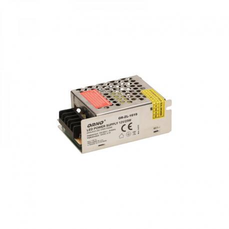 Orno Zasilacz open frame 25W do oświetlenia LED 12VDC