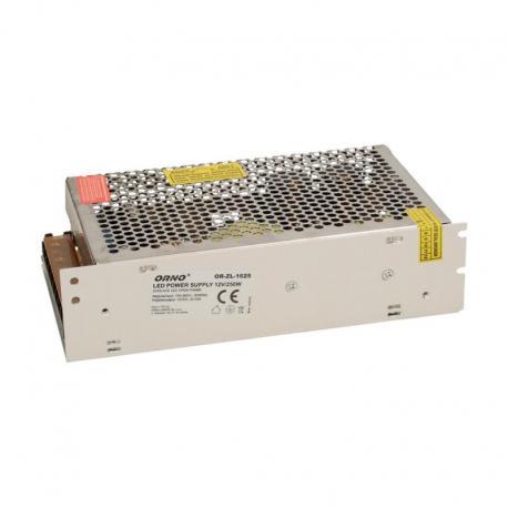 Orno Zasilacz open frame 250W do oświetlenia LED 12VDC