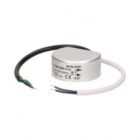 Orno Zasilacz do LED do puszki AC/DC LED 10W, IP67