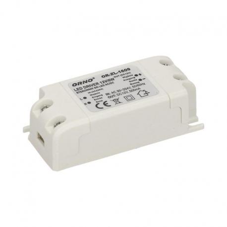 Orno Zasilacz do LED AC/DC LED 6W, IP20