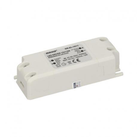 Orno Zasilacz do LED AC/DC LED 12W, IP20