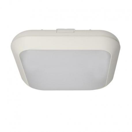 Orno MONSUN LED, plafon oświetleniowy, 15W, 1050lm, IP66, 4000K, poliwęglan mleczny, biały