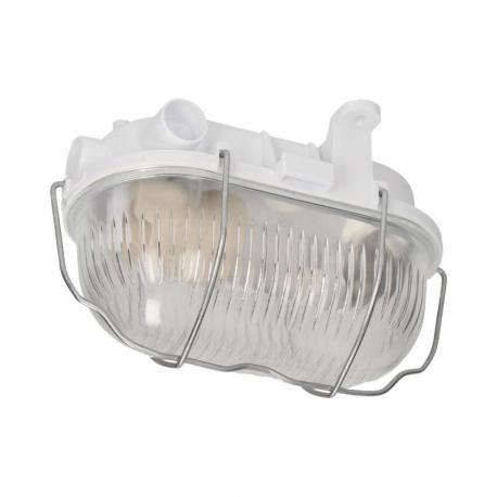 Orno AUSTRUL, oprawa oświetleniowa, 60W, E27, IP54, klosz szklany, stalowa osłona