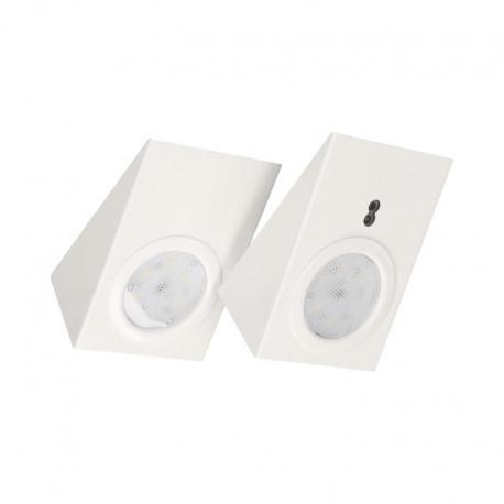 Orno Zestaw opraw podszafkowych LED 2,5W, 180lm, z wyłącznikiem bezdotykowym, biały