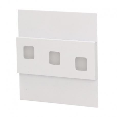 Orno LEPUS LED, oprawa schodowa, 1,2W, 6000K, 100lm, biała