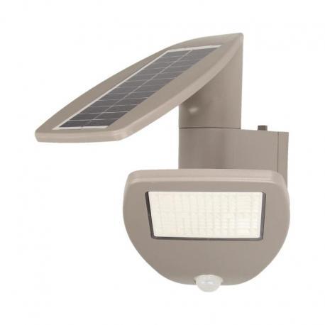 Orno SAURO LED, lampa solarna, ogrodowa z czujnikiem ruchu, 2,4W, 200lm, 1800mAh, IP44, 4000K