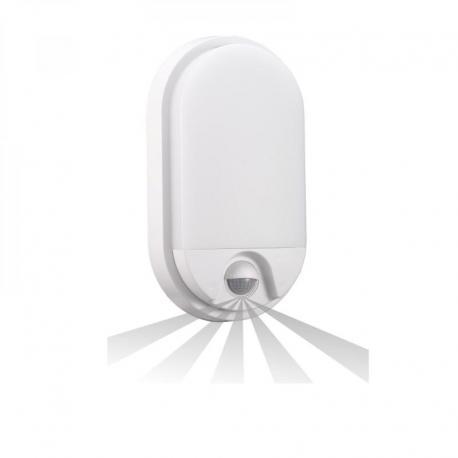 Orno NEFRYT LED, oprawa ogrodowa z czujnikiem ruchu, 10W, 850lm, 4000K, IP54