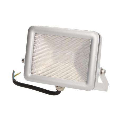 Orno SLIM LED, naświetlacz, 10W, 750lm, IP65, 5000K, srebrny