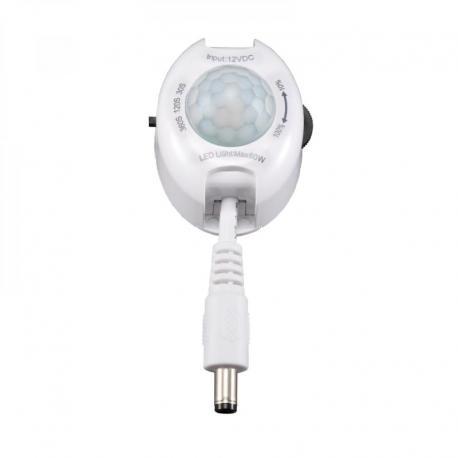 Orno Czujnik ruchu do paska LED 120st., 12V, max LED 60W, funkcja przyciemniania