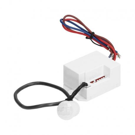 Orno Czujnik ruchu 360st. z zewnętrznym sensorem, IP20, 12-24V, 60W-120W