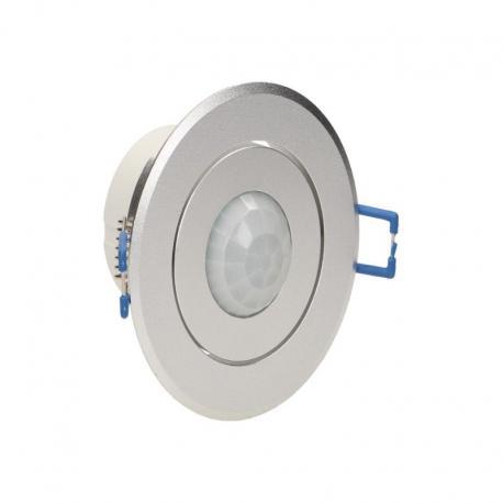 Orno Czujnik ruchu 360st. IP20, 1200W, aluminium, do sufitów podwieszanych, regulacja położenia sensora