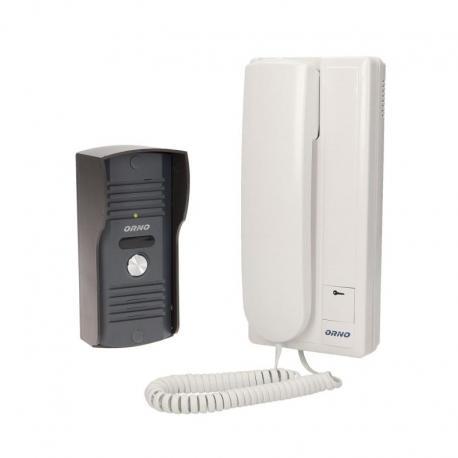 Orno Zestaw domofonowy jednorodzinny, wandaloodporny, ENSIS