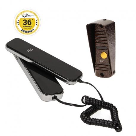 Orno Zestaw domofonowy jednorodzinny, wandaloodporny, CORS S