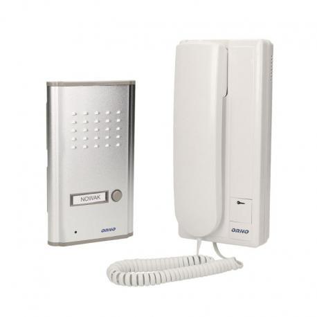 Orno Zestaw domofonowy jednorodzinny, podtynkowy, FOSSA