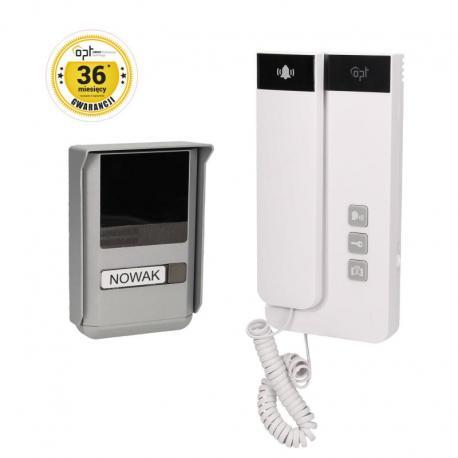 Orno Zestaw domofonowy jednorodzinny, 2-żyłowy, natynkowy, SALEM