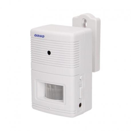 Orno Czujnik ruchu z sygnalizacją i z alarmem DING-DONG, 4-5m, bateryjny