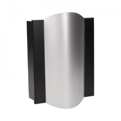 Orno Dzwonek Gong Ton Color 230V, czarno-srebrny