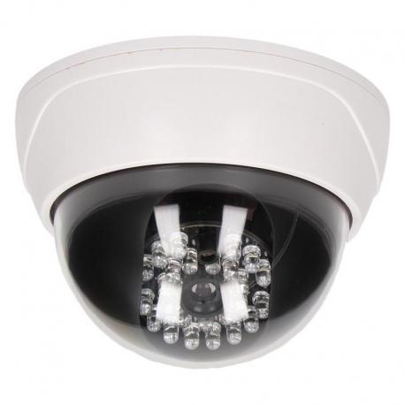 Orno Atrapa kopułowej kamery monitorującej z podczerwienią CCTV, bateryjna