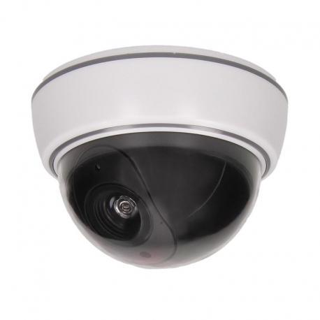 Orno Atrapa kopułkowej kamery monitorującej bez podczerwieni CCTV, bateryjna